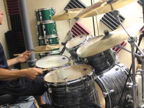 Joe Cocker's The Letter Drum Cover