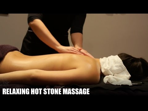 30 minute Hot Stone Massage with Relaxing Music