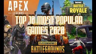 Top 10 Most Popular Online Games 2020