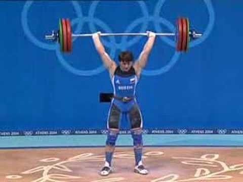 Athens 2004 Under 75 kg women Weightlifting