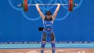 Athens 2004 Under 75 kg women Weightlifting