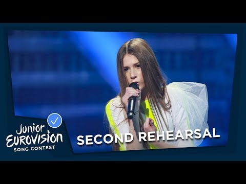 Roksana Węgiel - Anyone I Want To Be - Second Rehearsal - Poland 🇵🇱 - Junior Eurovision 2018