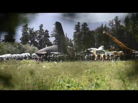 257 dead as military plane crashes in Algeria's worst air crash