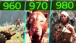 FAR CRY PRIMAL GTX 960 vs GTX 970 vs GTX 980 Gameplay