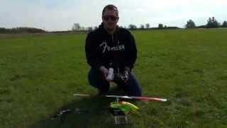 BLADE 360CFX Flug 1 mit Crash