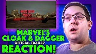 REACTION! Marvel's Cloak & Dagger Official Trailer - New Marvel TV Series 2017