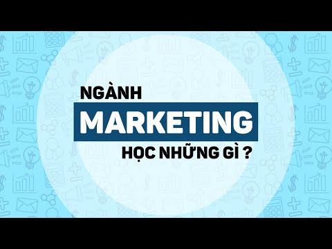 NGÀNH MARKETING | XU HƯỚNG HỌC MARKETING THỜI ĐẠI 4.0 | ĐỊNH HƯỚNG NGHỀ NGHIỆP | ĐH CÔNG NGHỆ ĐÔNG Á