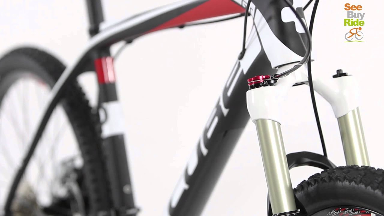 Cube Reaction GTC Pro 26 Carbon Mountainbike Wit/Rood - YouTube