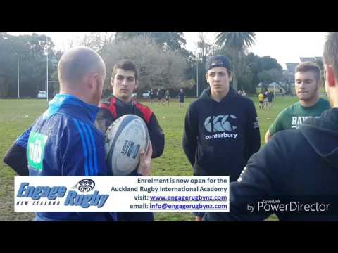 ERNZ - First five-eighths training at Auckland Rugby Int. Academy 2/2