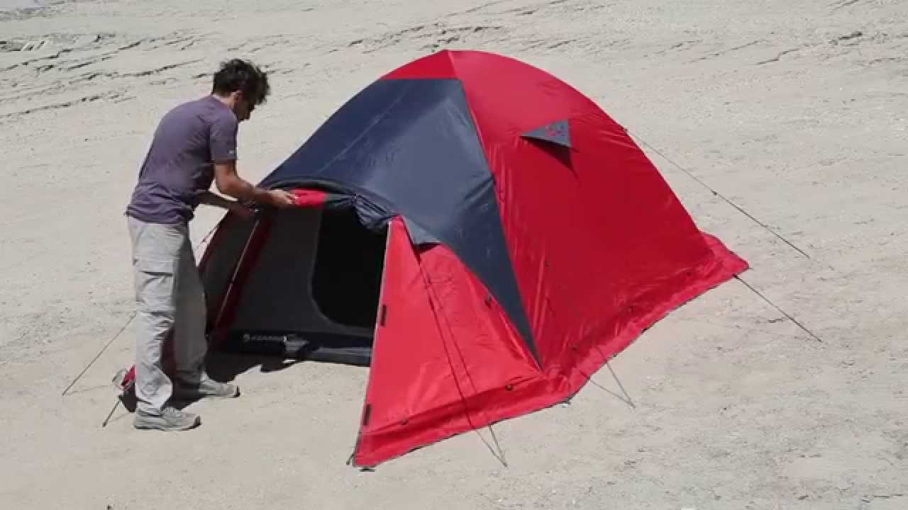& FERRINO ARAL 3 Tent Assembly Instructions - YouTube