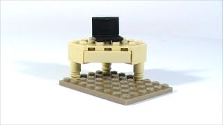 Hey Can You Show Me How To Make That? - Lego Corner Desk