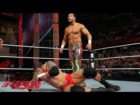 Fandango vs. Wade Barrett - WWE App Vote Match: Raw, May 27, 2013