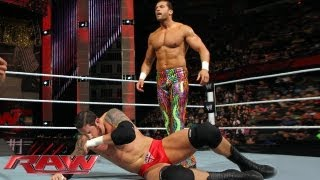 Fandango vs. Wade Barrett - WWE App Vote Match: Raw, May 27, 2013