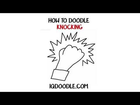 How to Draw Knocking (drawing tips)