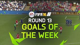 FIFA 16 - Best Goals of the Week - Round 13