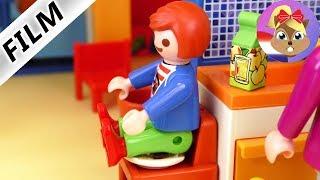 Playmobil filmpje Nederlands - JULIAN POEPT IN ZIJN BROEK?! TYPISCH JULIAN! Familie Vogel
