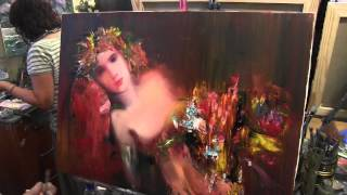 Портрет и жест мастихина , уроки рисования, графики, живописи в Москве