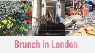 A Day of Meetings + Brunch in London! VLOG | Nicole Corrales
