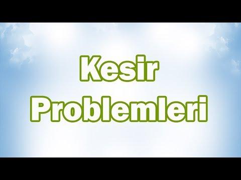 KESİR PROBLEMLERİ (Bütünden Parçaya-Parçadan Bütüne-Toplama Çıkarma)   5. Sınıf Matematik (CANLI)