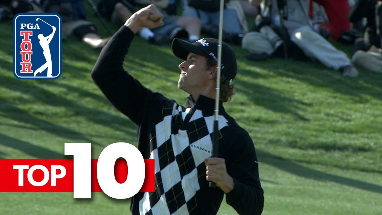Top-10 all-time shots from AT&T Byron Nelson
