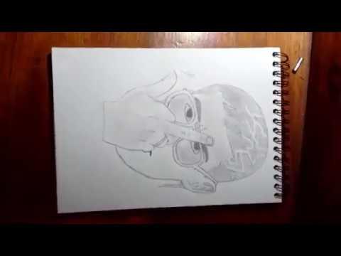 Dibujar a Bad Bunny | Drawing to Bad Bunny - YouTube