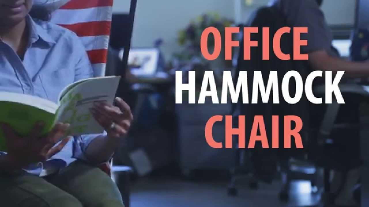 Office Hammock Chair By Amal   YouTube