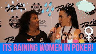 Its Raining Women in Poker Vegas 2018 Ladies Events