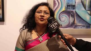 Painter Varsha Keshavrao Talks about her Journey & Paintings Collection at Stupa 18 Art Gallery