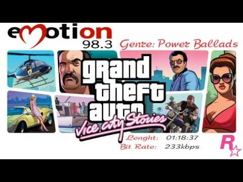 """Radio Station """"Emotion 98.3"""" from GTA Vice City Stories"""
