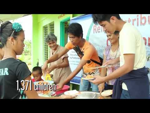 Ali Manek in the Philippines During Typhoon Yolanda Recovery Efforts