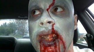 One of Ed Bassmaster's most viewed videos: Zombie Drive-Thru Prank