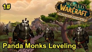 WoW: Mists of Pandaria 3x Panda Monks Leveling Episode 1!
