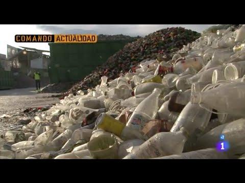 Reciclar vidreo, Sobra basura- Comando Actualidad
