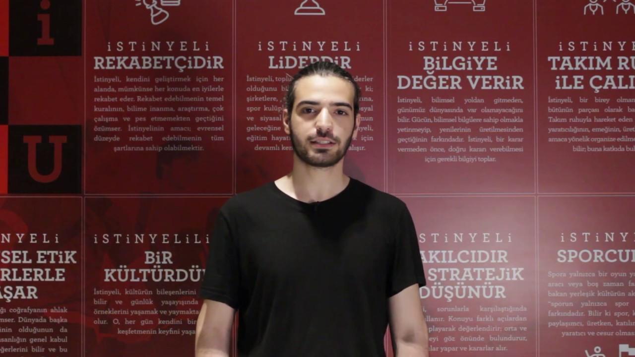 İSÜSİO - Yönetim Bilişim Sistemleri Bölümü Öğrencisi, Berat Can Topçu -  YouTube