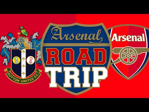 Sutton Utd vs Arsenal | Road Trip To Gander Green Lane