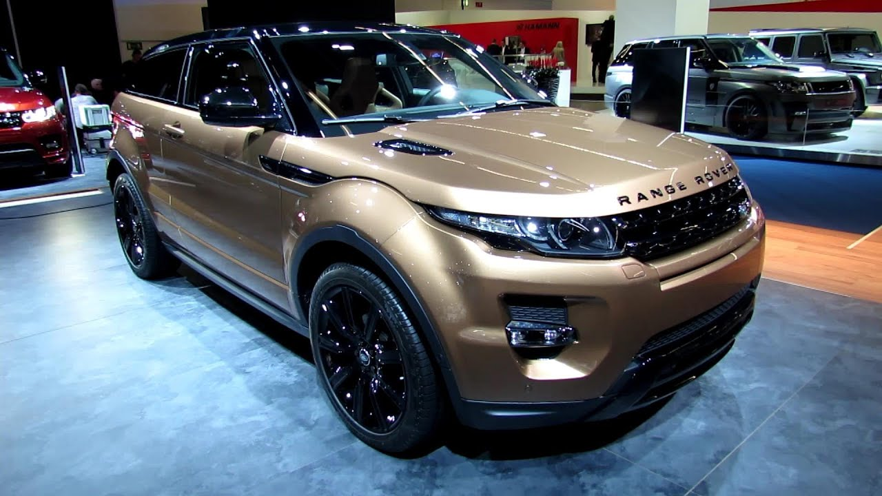 2014 Range Rover Evoque SC4 Exterior and Interior Walkaround 2013