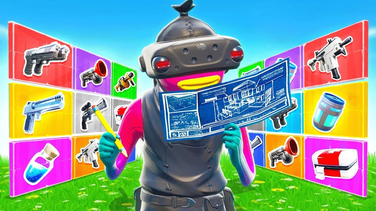 EDITS For RARE LOOT *NEW* Game Mode in Fortnite Battle Royale