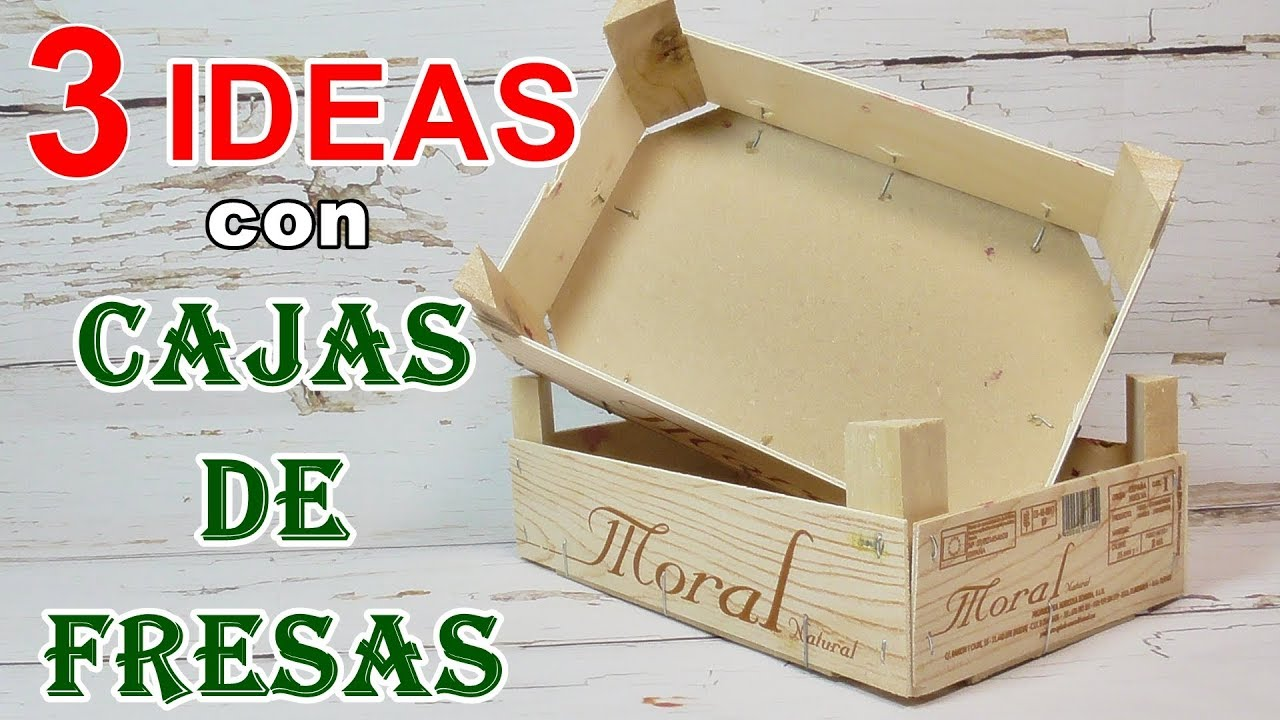4 Ideas Para Decorar Cajas De Madera Manualidades Diy Youtube