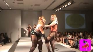 KoruKru by Lu Oliva Inverno 2015 Plus Size Lingerie Fashion Runway Show