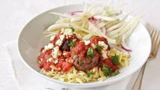 Greek Pasta With Meatballs Recipe