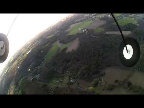 R/C airplane flight around Kunkletown PA