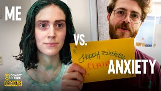Signing a Birthday Card For Someone You Don't Know - Eva vs. Anxiety