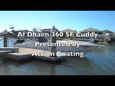 Al Dhaen 360 SF Cuddy  for sale Action Boating Boat Dealer Gold Coast