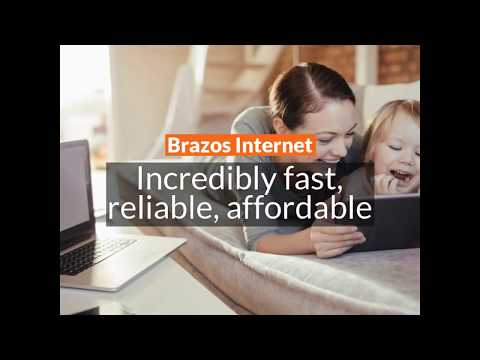 Brazos Communications Best. Internet. Ever.