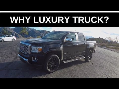 2019 GMC Canyon Denali = Questions - One Take