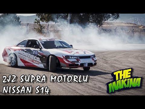 2JZ SUPRA MOTORLU NISSAN S14 İLE DRIFT KAPIŞMASI!! | KİM KAZANDI?