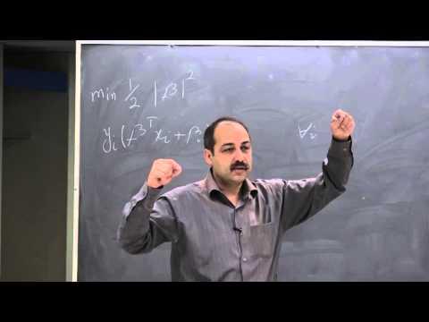Ali Ghodsi, Lec 12: Soft margin Support Vector Machine (svm)