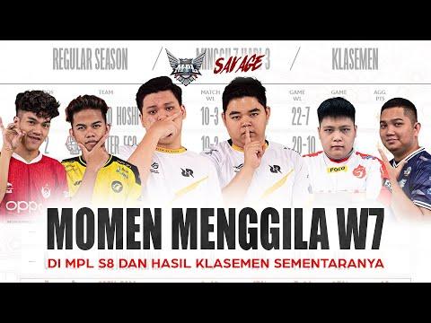 UPNEWS#35 - MOMEN MENGGILA W7! DI MPL S8 DAN HASIL KLASEMEN SEMENTARANYA