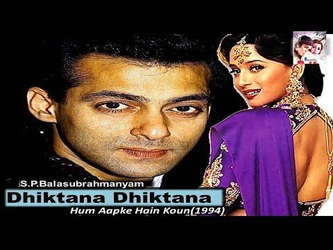 Dhiktana Dhiktana | Hum Aapke Hain Koun | Salman Khan & Madhuri Dixit