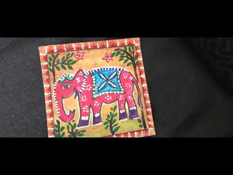 Madhubani painting -beginners level